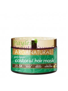 ARGANATURAL GOLD PRO STRENGTH KERATIN HAIR MASK CASTOR OIL