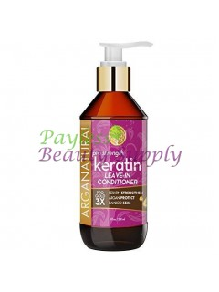 Arganatural Gold Women's Complex Pro Strength Keratin Leave-In Hair Conditioner, 8 fl.oz