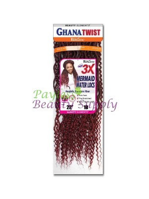 3X GHANA MERMAID WATER LOCS 22″