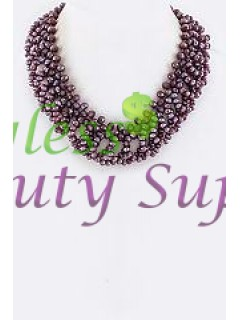 Layer Beads Collar Necklace