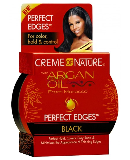 Creme of Nature Argan Oil Perfect Edges Black Gel