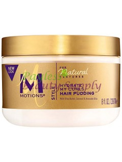 Motions Natural Textures Hair Pudding, With Shea Butter, Coconut and Avocado Oils 8 oz