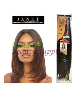 "JANET COLLECTION NEW YAKI 12"" 100% HUMAN HAIR"