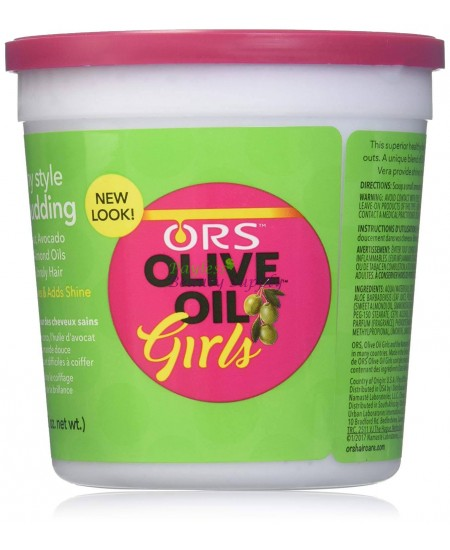 Organic Root Stimulator Olive Oil Girls Healthy Style Hair Pudding