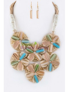 Venetti Flower Necklace