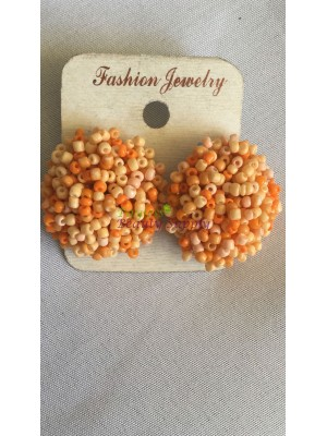 Fashion Orange beads earring