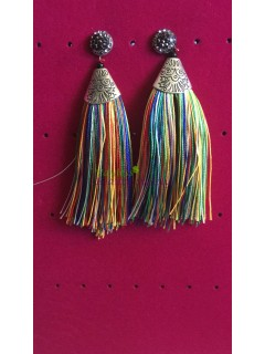 Antique gold Tassel earring