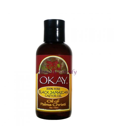 Okay Jamaican Black Castor Oil