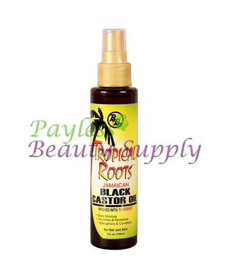 BRONNER BROS TROPICAL ROOTS JAMAICAN BLACK CASTOR OIL