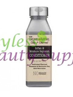 Creme of Nature Clay & Charcoal Soften and Moisture Replenish Conditioner