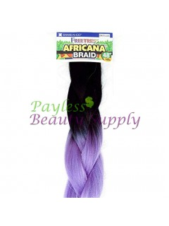 "AFRICANA BRAID 48""-FreeTress Synthetic Hair 100% Kanekalon 100g."