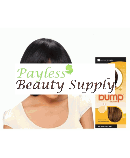"Sensational Bump Yaki 8"" Weave Human Hair"