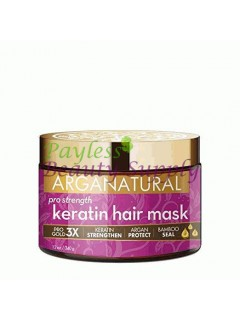 ARGANATURAL GOLD PRO STRENGTH KERATIN HAIR MASK