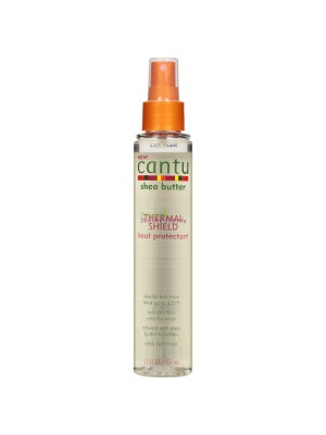 Cantu Shea Butter Thermal Shield Heat Protectant.