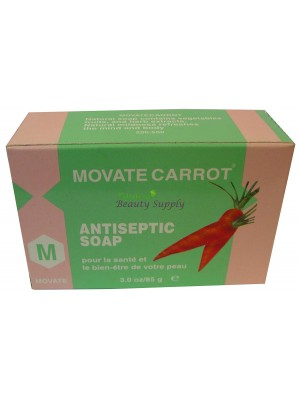 Movate Carrot Antiseptic Soap 3 oz