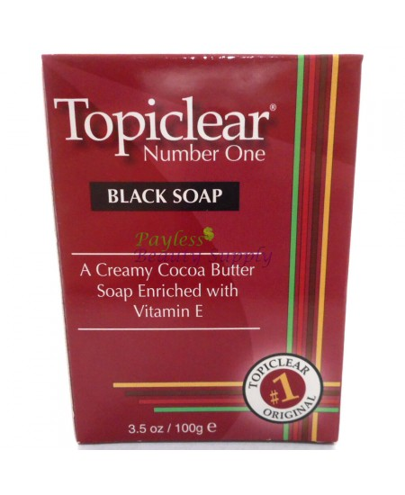 Topiclear Number One Black Soap