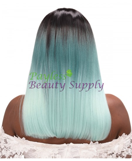 Destiny Beauty Elements Green Wig: Sally 18""